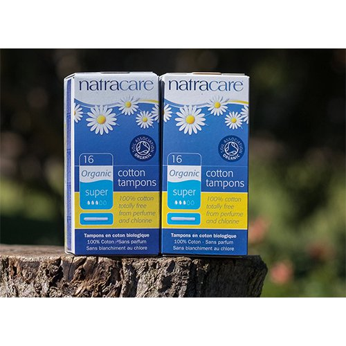 Natracare Organic Tampons Applicator Super