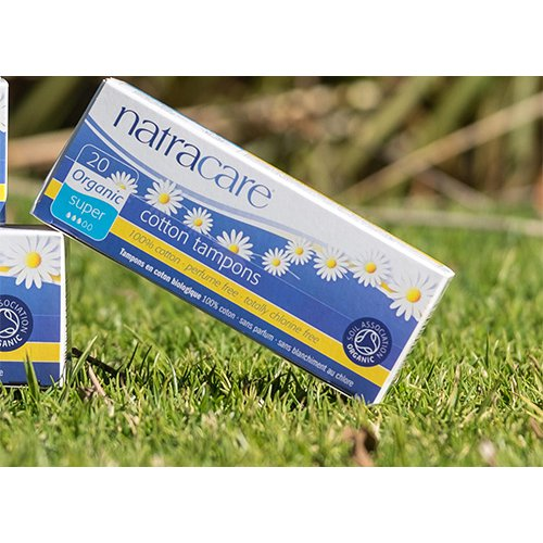 Natracare Organic Tampons Digital appplication Super