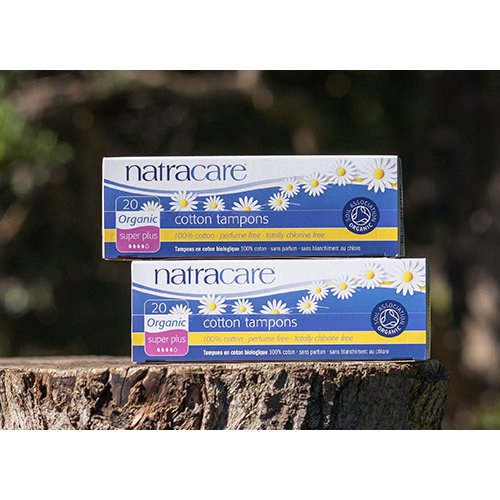 Natracare Organic Tampons Digital appplication Super+